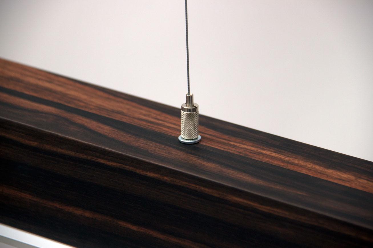 Startlight aus massivem Echtholz
