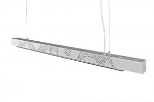Pendelleuchte Startlight mit Silber veredelt